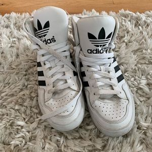 High tops Adidas! Great condition